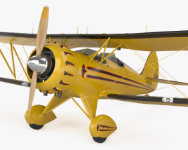 3D model of WACO Classic YMF-5C