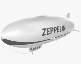 3D model of Zeppelin NT