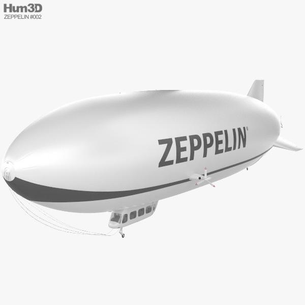 Zeppelin NT 3D model