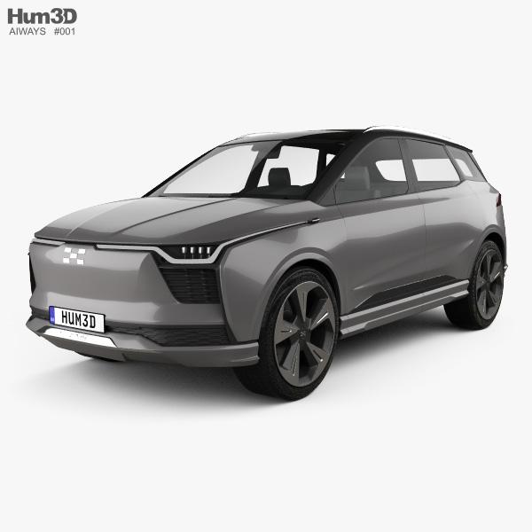 Aiways U5 ION 2018 3D model