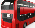 Alexander Dennis Enviro400H City Double Decker Bus 2015 3d model