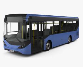 3D model of Alexander Dennis Enviro200 Bus 2016