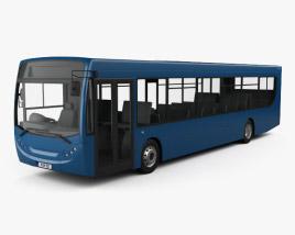 3D model of Alexander Dennis Enviro300 Bus 2016
