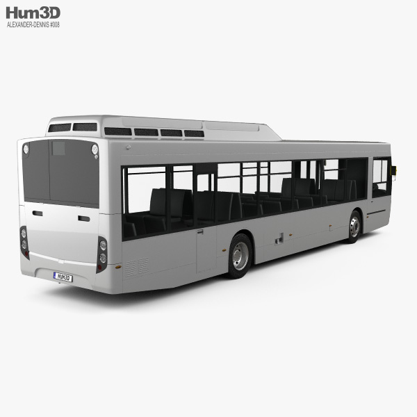 Alexander Dennis Enviro350H Bus 2016 3D model