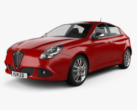 3D model of Alfa Romeo Giulietta 2011