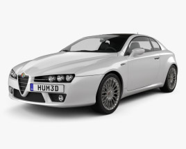 3D model of Alfa Romeo Brera 2011