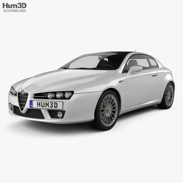 Alfa Romeo Brera 2011 3D model