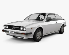 3D model of Alfa Romeo Sprint 1976