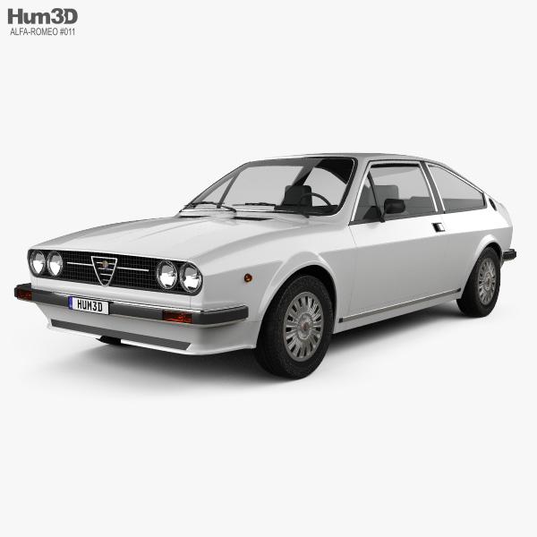 Alfa Romeo Sprint 1976 3D model