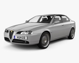 3D model of Alfa Romeo 166 2003