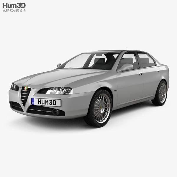 Alfa Romeo 166 2003 3D model