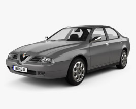 3D model of Alfa Romeo 166 1998