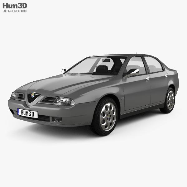 Alfa Romeo 166 1998 3D model