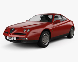 3D model of Alfa Romeo GTV 1995