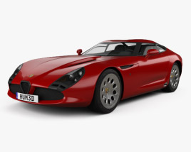 3D model of Alfa Romeo TZ3 Stradale 2011