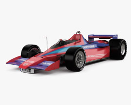 3D model of Alfa Romeo Brabham BT46B 1978