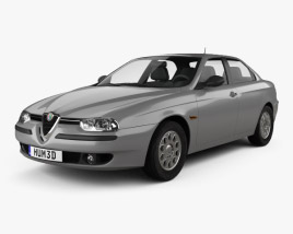 3D model of Alfa Romeo 156 1997