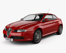 3D model of Alfa Romeo GT 2004