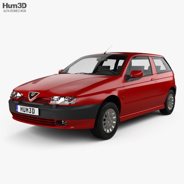 Alfa Romeo 145 1994 3D model