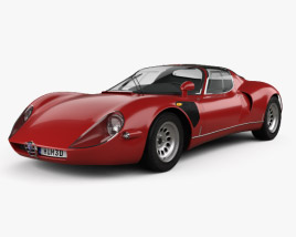 3D model of Alfa Romeo 33 Stradale 1967