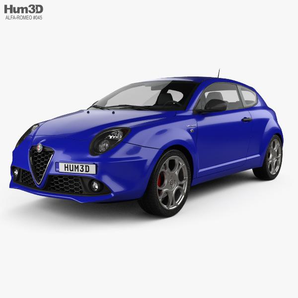 Alfa Romeo MiTo Veloce 2016 3D model
