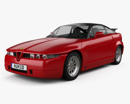 3D model of Alfa Romeo SZ 1989