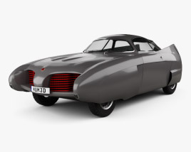 3D model of Alfa Romeo BAT 5 1953