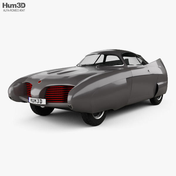 Alfa Romeo BAT 5 1953 3D model