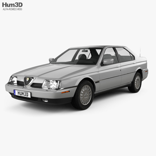 Alfa Romeo 164 LS 1994 3D model