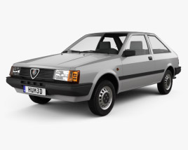 3D model of Alfa Romeo Arna L 1983
