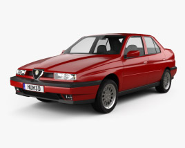 3D model of Alfa Romeo 155 1997