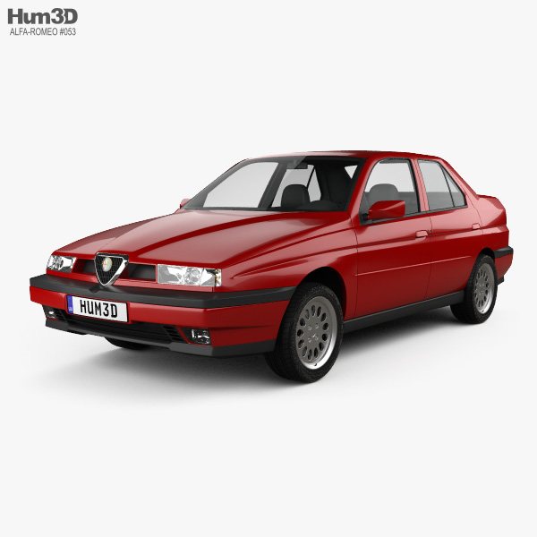 Alfa Romeo 155 1997 3D model