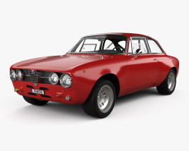 3D model of Alfa Romeo GTAm 1969