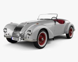 3D model of Allard K1 1946