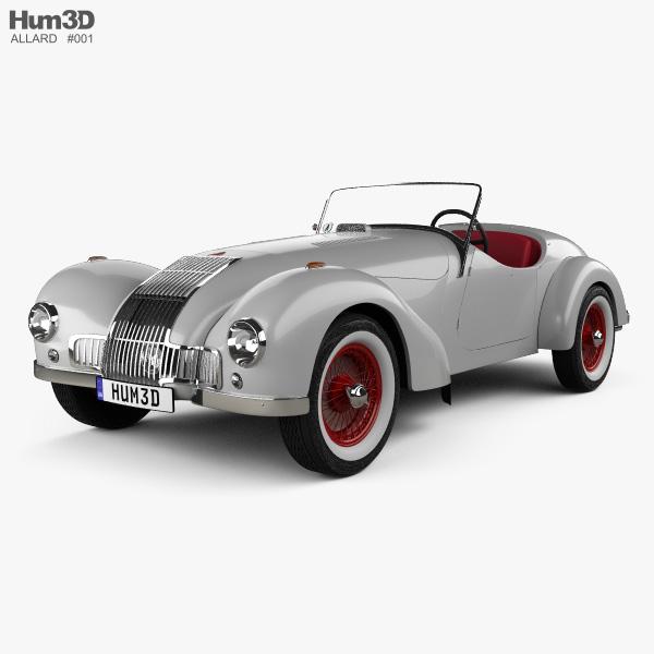 Allard K1 1946 3D model