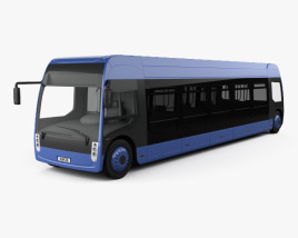 3D model of Alstom Aptis Bus 2019