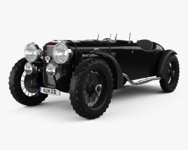 3D model of Alvis Speed 20 SB Sport 1934