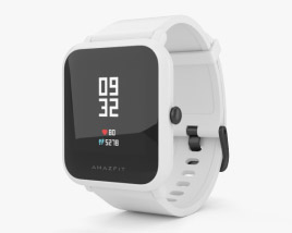 3D model of Amazfit Bip White Cloud