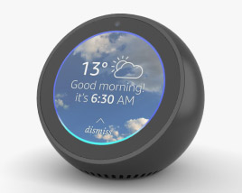 3D model of Amazon Echo Spot Black