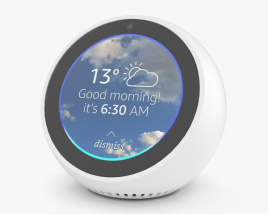 3D model of Amazon Echo Spot White