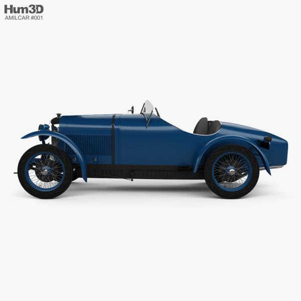 Amilcar CGSS 1926 3D model