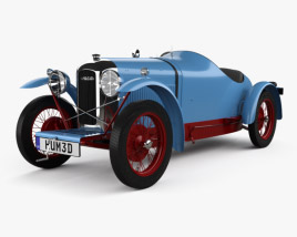 3D model of Amilcar CGSS 1927