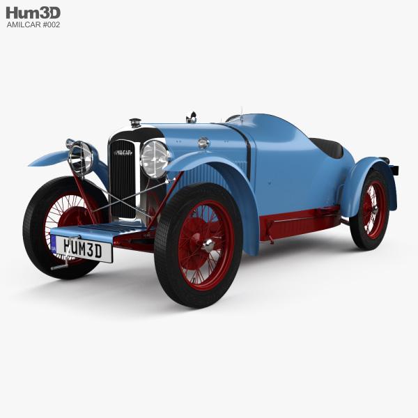 Amilcar CGSS 1927 3D model