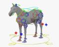 Horse HD 3d model