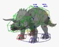 Triceratops HD 3d model