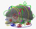 Hedgehog HD 3d model