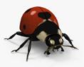 Ladybird HD 3d model