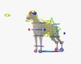 Greyhound HD 3d model