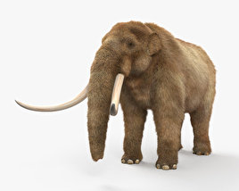 3D model of Mastodon HD