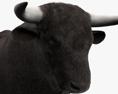 Bull HD 3d model